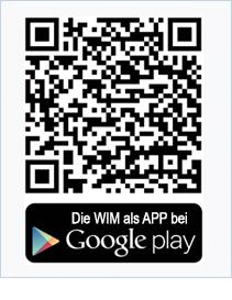 WIM als APP bei GooglePlay QR-Code